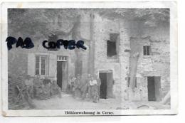 02  CERNY  HOHLENWOHNUNG       SOLDATS ALLEMANDS  1915 - Other Municipalities