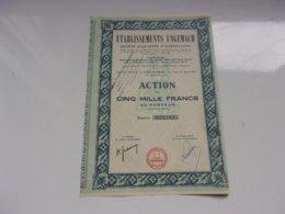 UNGEMACH Société Alsacienne D'alimentation (SCHILTIGHEIM) - Aandelen