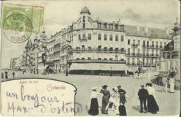 Ostende -- Digue De Mer.   ( 2 Scans ) - Oostende