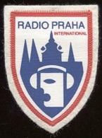 Ecusson Radio Prague / Radio Praha - Radio & TSF