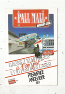 Cp,publicité , PALL MALL Music USA ,radio ,fréquence Angelique 98.0 ,cigarettes ,tabac - Publicité