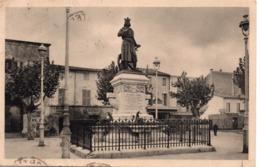 AIGUES-MORTES - Statue De Saint-Louis - Aigues-Mortes