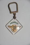 PORTE - CLEFS   BOURBON    ---  CELLOLAC - Porte-clefs