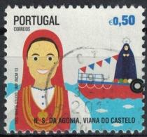 Portugal 2013 Oblitération Ronde Used Fêtes N.S. Agonia Viana Do Castelo - 1910-... République