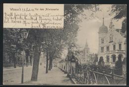 Ansichtskarte Wismar Mecklenburg Vor Altwismartor Nach Gnoien 21.7.1905 - Allemagne