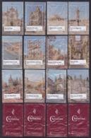 Christina Cafés, Portugal 2019 - Monumentos A Norte/ Série Complète 12 Sachets Vides - Zucchero (bustine)