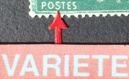 """R1189/24 - 1921 - TYPE SEMEUSE - N°159h NEUF* - VARIETE ➤➤➤ 1er """" S """" De """" POSTES """" Retouché (RARE) - Varieties: 1921-30 Mint/hinged"""