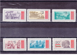 BULGARIE 1969  Yvert 1708-1713 NEUF** MNH - Bulgarien