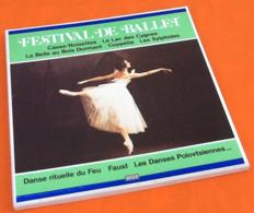 Coffret 33 Tours  (3 Vinyles) Festival De Ballet - Classique