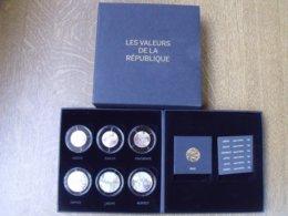 Splendide Coffret Valeurs De La République 2013 - France