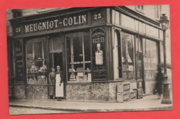 21 - Dijon - Carte Photo épicerie Au 23 Rue Monge - Dijon