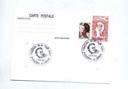 Carte Postale 1.60 Philexfrance Cachet Cahors Confrerie Truffe - Biglietto Postale