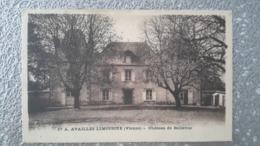 CP - AVAILLES LIMOUSINE LIMOUZINE - CHATEAU DE BELLEVUE - Availles Limouzine