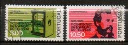 PORTUGAL 1° Liaison Téléphonique 1976 N° 1287-88 - 1910-... République