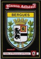 BERGUES  BLASON ADHÉSIF  VILLE ET PROVINCES DE FRANCE - Bergues