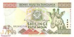 TANZANIA 1.000 SHILINGI 1997 PICK 31 UNC - Tanzania