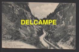DD / 74 HAUTE SAVOIE / LES GORGES DE L' ARVE : ROUTE DE CHAMONIX / 1909 - Non Classés