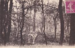 SAINT-NOM LA BRETÈCHE - YVELINES  -  (78)  - CPA ANIMÉE 1938 - CLICHE INÉDIT. - St. Nom La Breteche