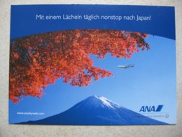 All Nippon Airways, B 747 (4), Airline Issued Card - 1946-....: Ere Moderne