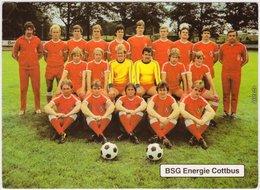 Energie Cottbus Mannschaft -   (Aufsteiger DDR-Oberliga 1981/82) 1981 - Voetbal