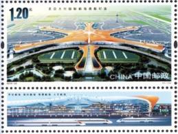 China 2019-22 Beijing Daxing Int'l Airport Stamp - 1949 - ... Volksrepublik