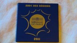 200 Euros Or Régions 2011 - France