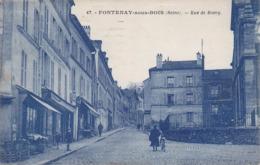 CPA - 94 - FONTENAY SOUS BOIS - Rue De Rosny - 67 - Fontenay Sous Bois