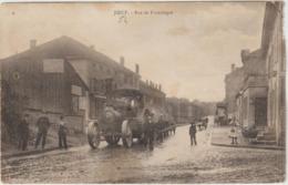 CPA 54  Joeuf Rue De Franchepre    Entreprise Tp  Tracteur Beau Plan - France