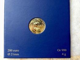 200 Euros Or Régions 2012 - France