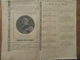 PUBLICITÉ- AFFICHETTE Pour FILM L'ATLANTIDE D'après Pierre Benoît 1932- 23x45cm - Reclame