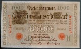 P44 Ro 45c DEU-40c  7 Chifres N°6441753E  *** AUNC *** Lettre H  1000 Mark 1910 - [ 2] 1871-1918 : German Empire
