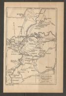 CARTE PLAN 1928 - LA SCHLUCHT HOHNECK LE VALTIN ALTENBERG RAINKOPF METZERAL ROUTES CARROSSABLES CHEMINS ET SENTIERS - Mapas Topográficas