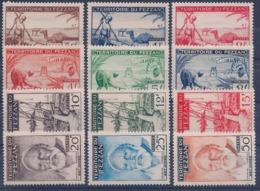 FEZZAN - 56/67  COMPLETE NEUF* MLH COTE 52 EUR - Fezzan (1943-1951)