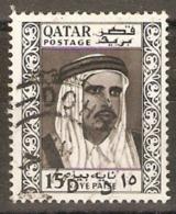 Qatar  1961 SG  28 Shaikh Amed Bin All Al Thani  Fine Used - Qatar