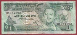 Ethiopie  1 Byrr Dans L 'état  (145) - Etiopía