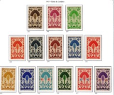 Ex Colonies Françaises Madagascar Poste  Série Complète 265/278 N** - Used Stamps