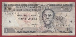 Ethiopie  1 Byrr 2006 Dans L 'état  (146) - Ethiopie