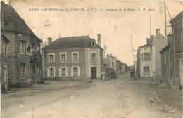 SAINT GEORGES SUR LAYON LE CARREFOUR DE LA POSTE - Autres Communes
