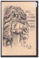 ARMEE SUISSE - MILITAIRE - FUS. 1 - 24 - NOEL SOUS LES ARMES 1917 - TB - Suisse
