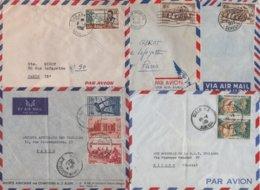 Senegal - Lot De 5 Lettres - Lettres & Documents