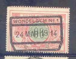 K858-België  Spoorweg Chemin De Fer Met Stempel WONDELGEM N° 1 - 1895-1913