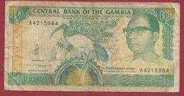 Gambie 5 Dalasis  1991/95 (Sign 10) Dans L 'état  (150) ---FORTE COTE EN UNC - Gambie