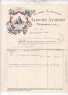 PELISSANNE 1917 / Huilerie Notre-Dame Du Caderot, Albert Aubert, Savonnerie, Huile,/ MR REYNAUD / LES THUILES - Francia