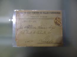 ESCOLA DO SEXO FEMININO DE VILLAR D ANDORINHO . EXPOSIÇAO ESCOLAR - Lettres & Documents
