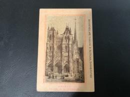 AMIENS Facade De La Cathedrale - DAVAYAT VIALLARD Chaussures CLERMON FERRAND - Publicités