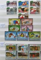 Collection Lot Sammlung De ~ 735 Timbres-poste ** MNH Hommage à Walt DISNEY Cartoon Dessin Animé (CV > 800 €) - Comics
