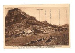 Route Des Alpes De Chambéry à La Chartreuse - Col Du Granier - Les Chalets - Hotel Restaurant - 430 - Autres Communes