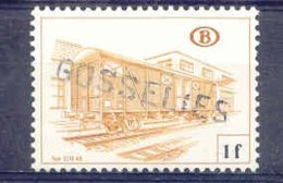 K952-België  Spoorweg Chemin De Fer Met Stempel GOSSELIES - Bahnwesen