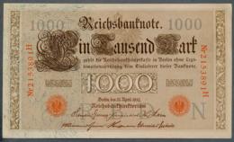 P44 Ro 45c DEU-40c  7 Chifres N°2153891  *** AUNC *** Lettre N  1000 Mark 1910 - [ 2] 1871-1918 : German Empire