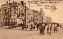 OSTENDE - Vue De La Digue à L'Hôtel De Paris - Oostende